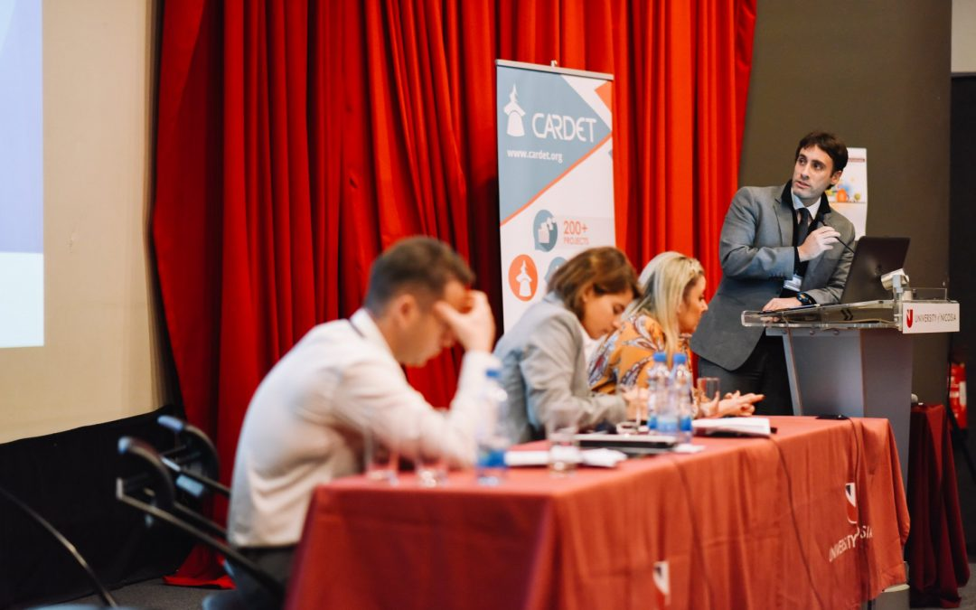 LION project and its preliminary results presented at the 2018 International Conference of the Mediterranean Migration Network (MMN)