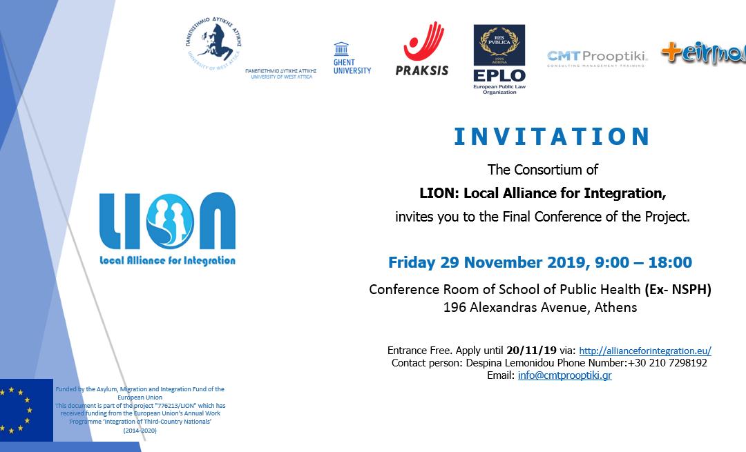 LION – Final Conference